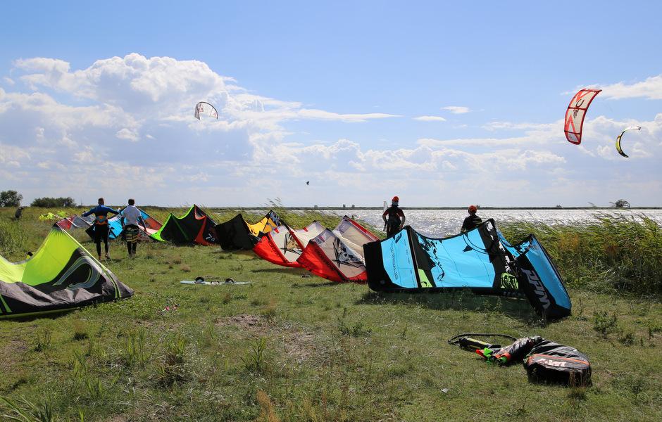 kitesurfing wolin