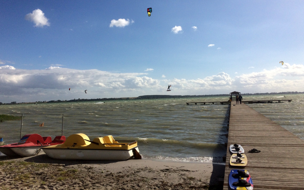 miedwie kitesurfing wierzbno