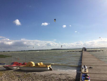 Niebezpieczna przygoda Piotra, wypadek na kitesurfingu w Wierzbnie, nad Jeziorem Miedwie