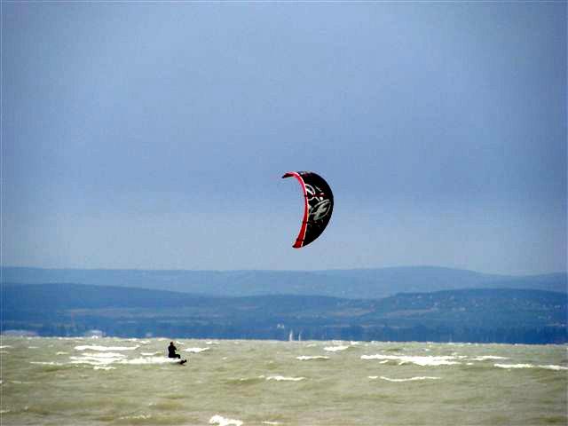 Kitesurfing Balaton