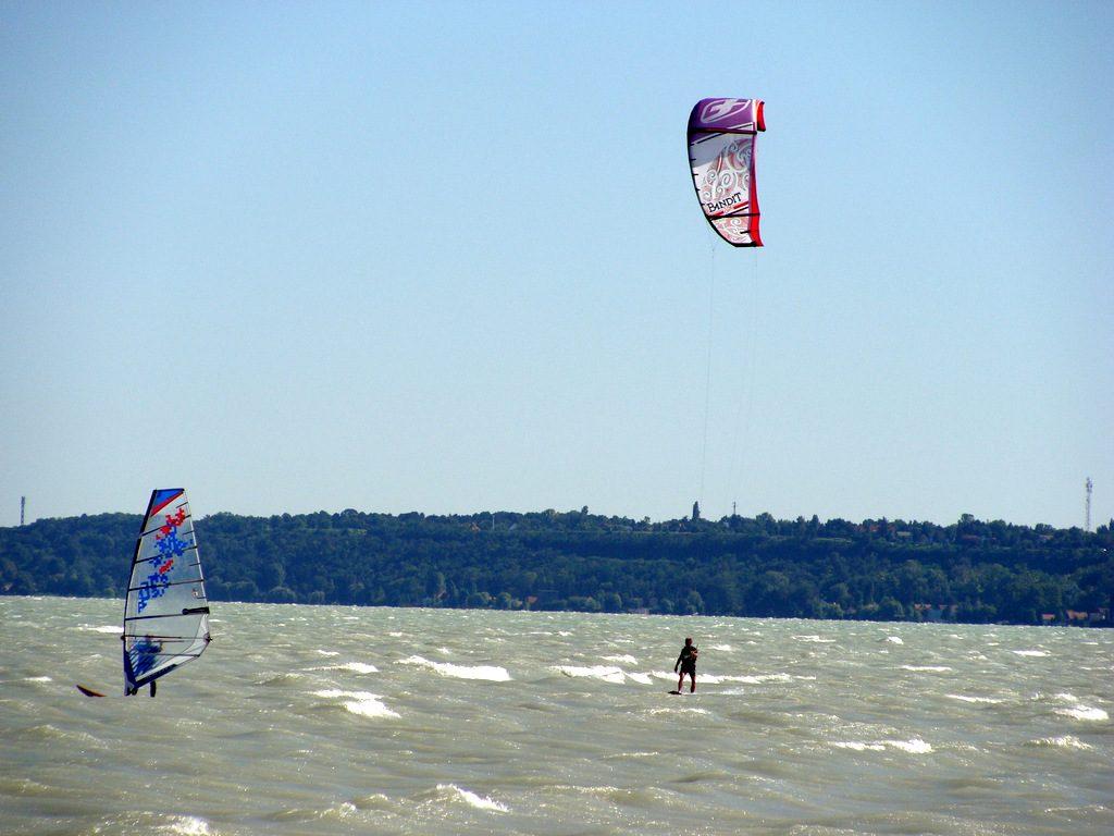 Węgry kitesurfing