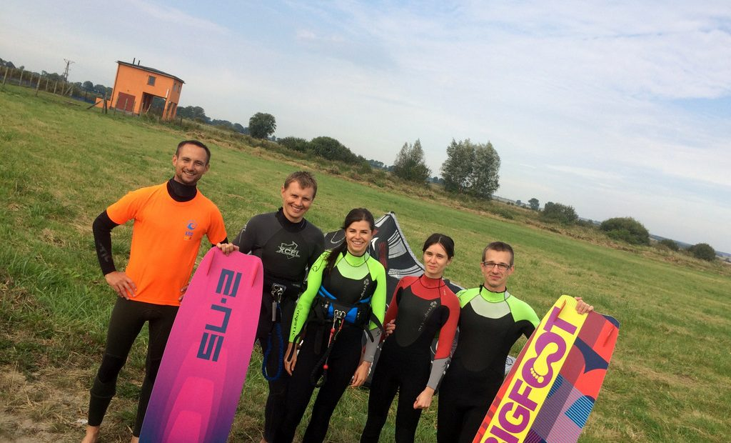 Kurs instruktora kitesurfingu